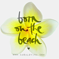 Born on the beach Casa Lovina Logo
